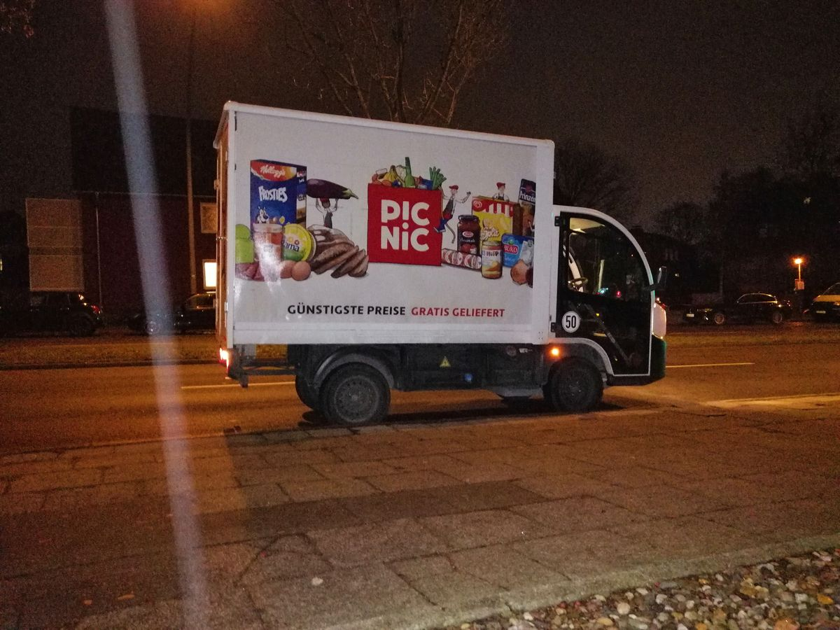 PICNIC Lieferservice Erfahrungen Ruhrgebiet Essen Startup Düsseldorf NRW Edeka nachhaltig alternativ lebensmittel bestellen E-Auto